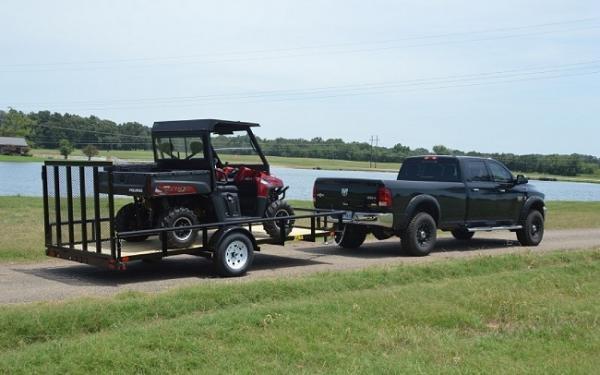 Big Tex 35SA- 10 Single Axle Utility Trailer