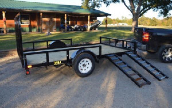 35SA-RS/RSX Single Axle ATV Trailer