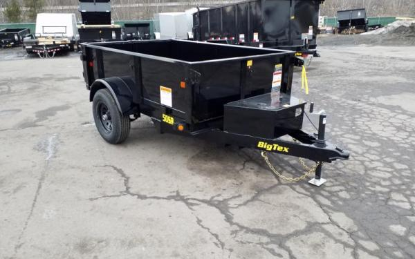 50SR Single Axle Ram Dump