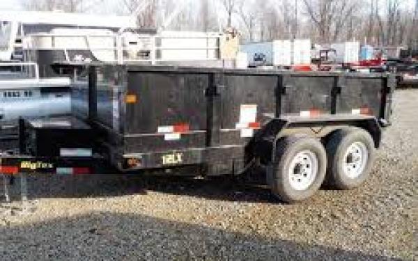 12LX Standard Duty Tandem Axle Extra Wide Dump