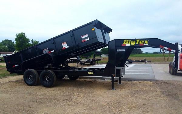 14GX Heavy Duty Tandem Axle Extra Wide Goosneck Dump