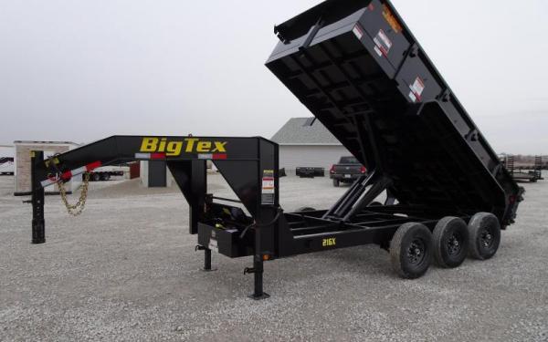 21GX Triple Axle Extra Wide Goosneck Dump