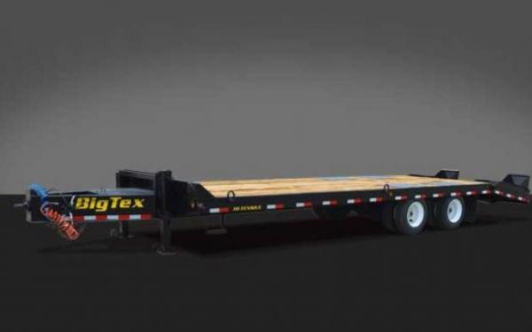 4XPH Pintle Heavy Equipment Transport