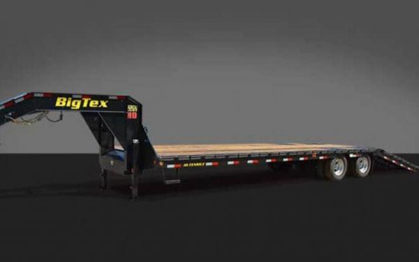 22HD Hydraulic Dovetail Tandem Dual Axle Goosneck