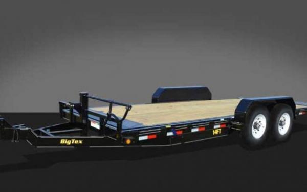 14FT Heavy Duty Full Tilt Bed Equipment