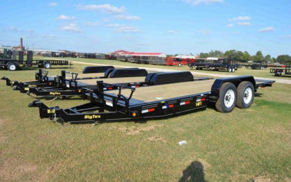 Big Tex 14FT- 18 Heavy Duty Full Tilt Bed Equipment Trailer