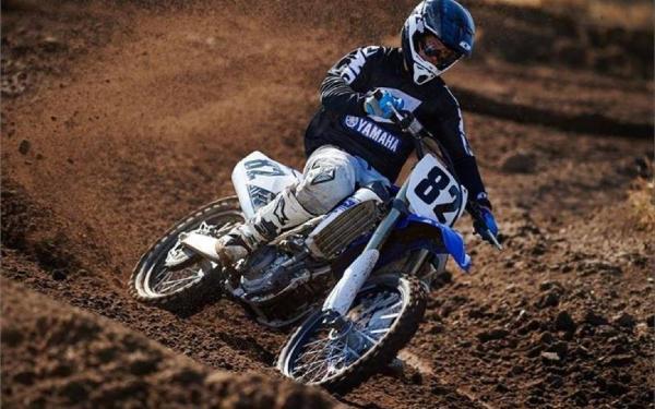 Yamaha YZ450F Team Yamaha Blue/White