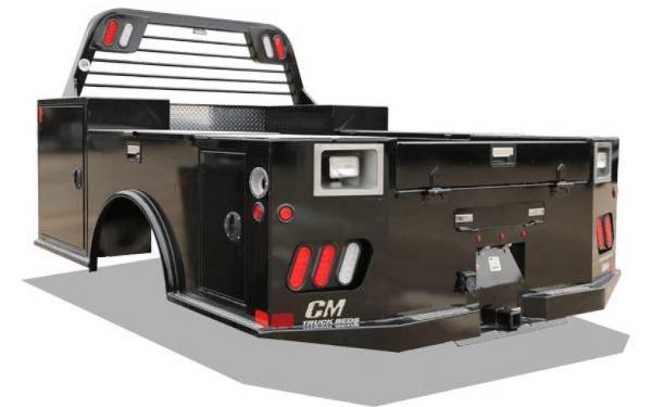 CM TMD Steel Tradesman Deluxe Truck Bed