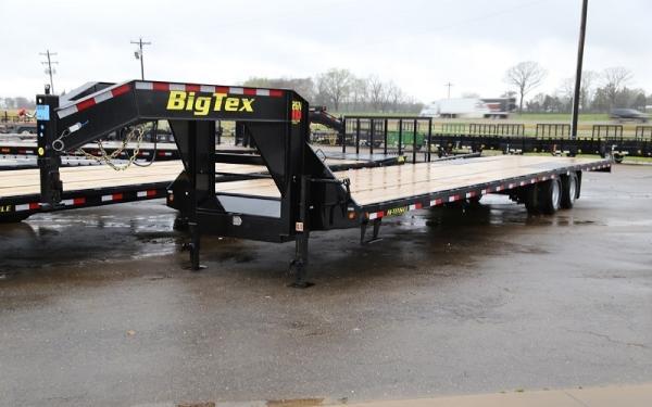 Big Tex 25GN-20 + 5 Tandem Dual Wheel Gooseneck