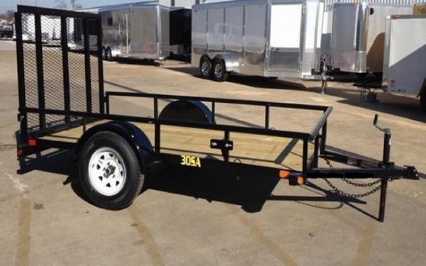 "Big Tex 30Sa-60"" x 08 Single Axle Utility Trailer"