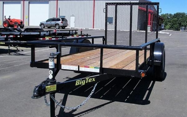 Big Tex 30SA-08 Single Axle Utility Trailer