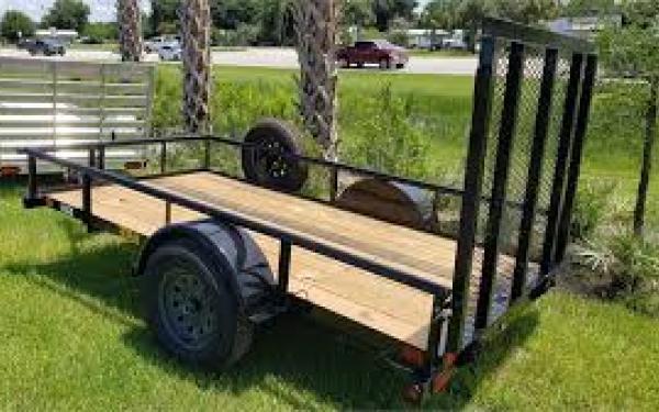 "30SA-60"" x 10 Single Axle Utility Trailer"