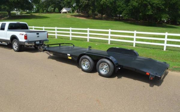 Big Tex 20ft Diamond Back Car Hauler