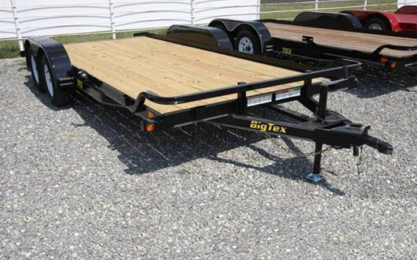 18' Tandem Axle Car Hauler w/ Dovetail