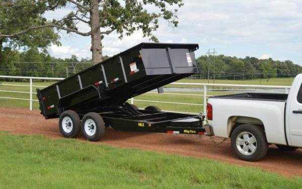 Heavy Duty 14' Scissor Lift Dump