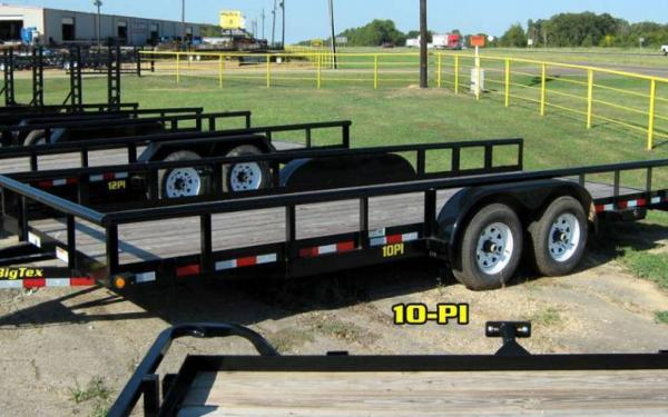 18ft Pro Series Pipe Utility Trailer