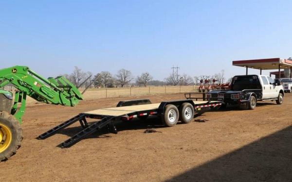 14ET 20 ft Heavy Duty Equipment Hauler