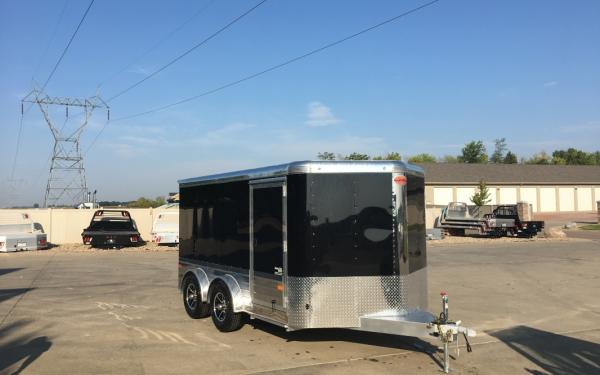 2018 Sundowner MCS 14' Motorcycle Trailer Custom Bike Hauler #2003