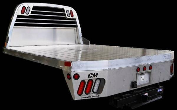 AL RD Aluminum Rail Side Deluxe Truck Bed