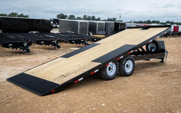 Big Tex Trailers 14OT-22 Tilt Equipment Trailer