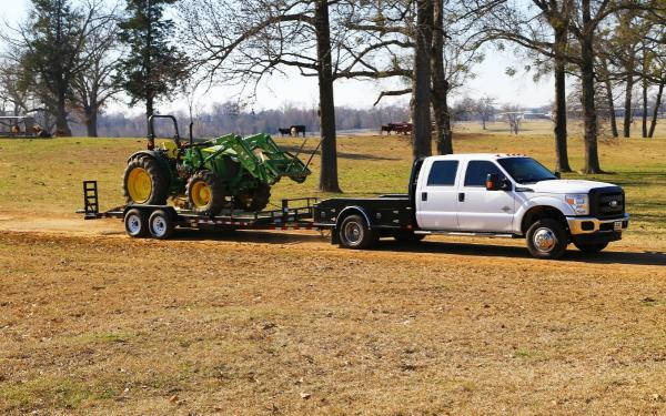 Big Tex 14ET Heavy Duty Equipment Trailer w/ Ramps