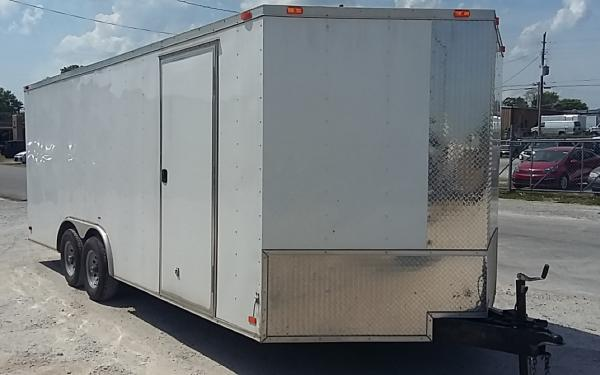 Pace Enclosed Cargo (2019)  7'X 14'Trailer(32644)