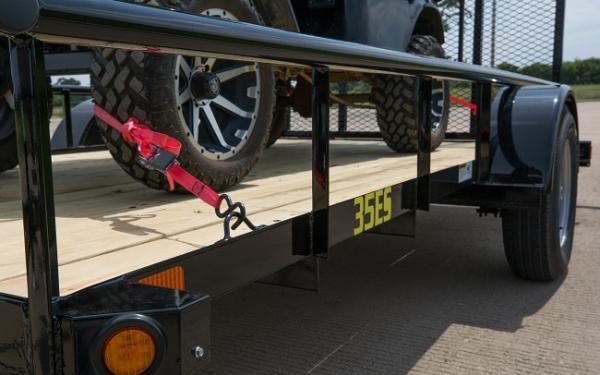 Big Tex New 35ES- 12 Economy Single Axle Utility Trailer