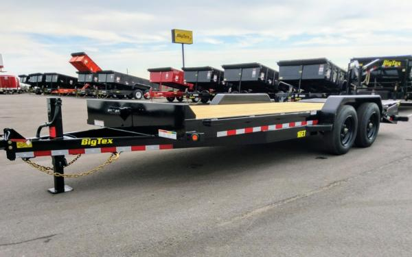 16ET- 17 + 3 (17 Deck w/ 3 Cleated Dovtail) Equipment Trailer