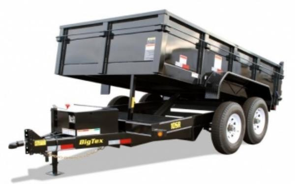 Big Tex 83''x12' Low Profile Tandem Axle Dump Trailer