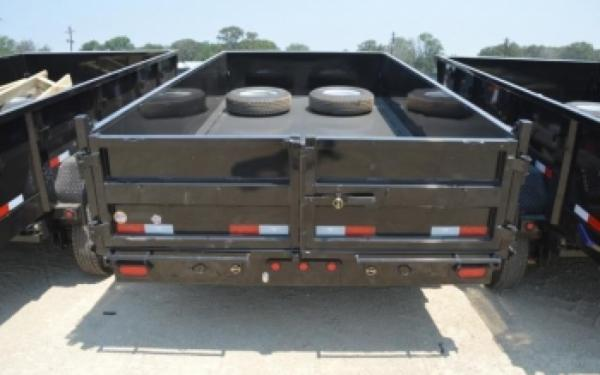 "Big Tex 83""x14' 2' Steel High Sides Dump Trailer"