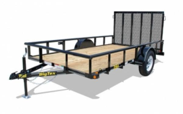 BIG TEX - 7 x 12 Single Axle Utility