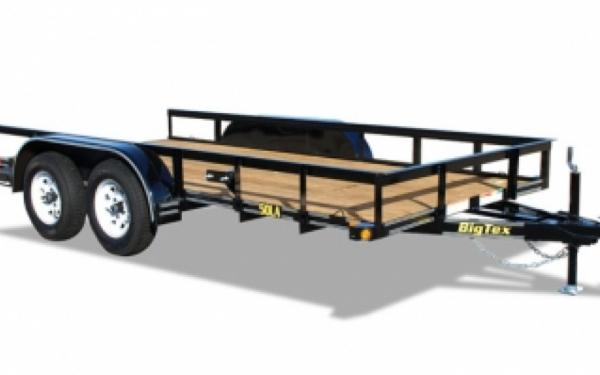 Big Tex 50LA Tandem Axle Utility Trailer