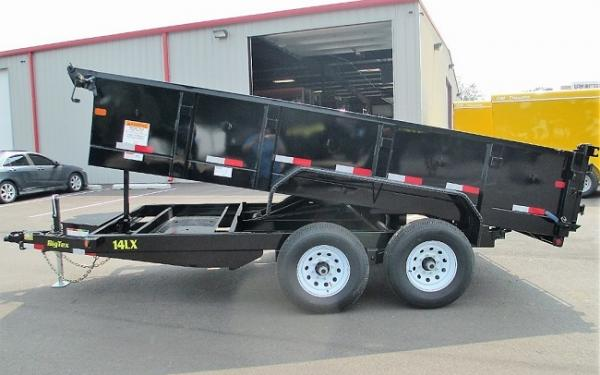Big Tex 14LX TANDEM LP BP DUMP 7X16 POWER UP & DN