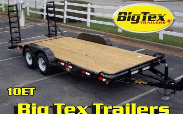 "10ET-83"" x 20 Pro Series Tandem Axle Equipment Trailer"