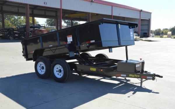 10SR DUMP,(83 x 12) Black,7 Slide in Ramps