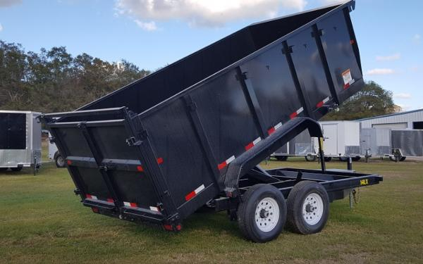 14LX-P4-14 Heavy Duty Tandem Axle Extra Wide Dump