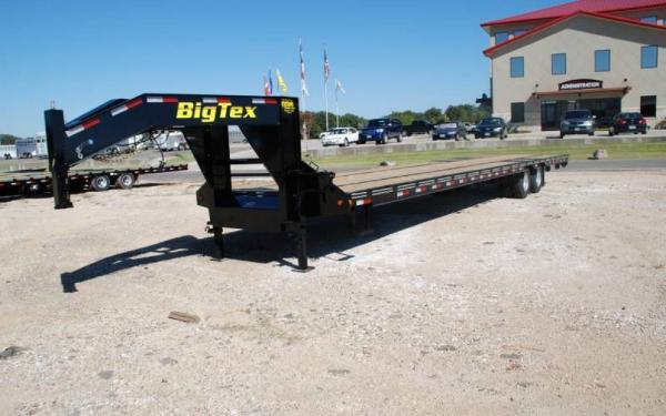 Big Tex Hot Shot Trailer 40' Gooseneck