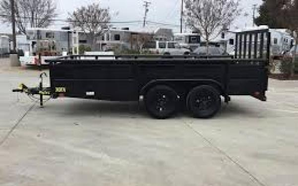 "Big Tex 70TV-83"" x 16 Tandem Axle Vanguard Trailer"