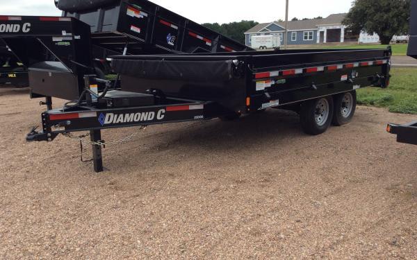 Diamond C 25DOD Deckover Dump