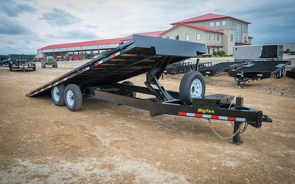 14OT Heavy Duty Over-the-Axle Tilt Bed Equipment