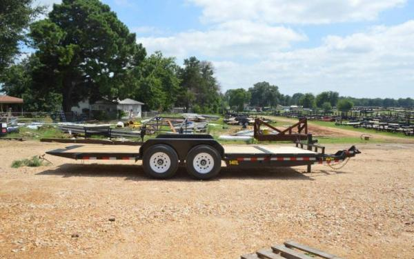 Used 2016 Big Tex 14TL-22BK Equipment trailer