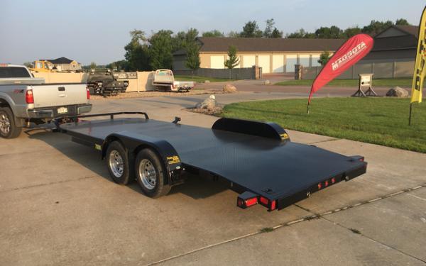 2018 Big Tex 70DM - 20 Car Trailer # 8091