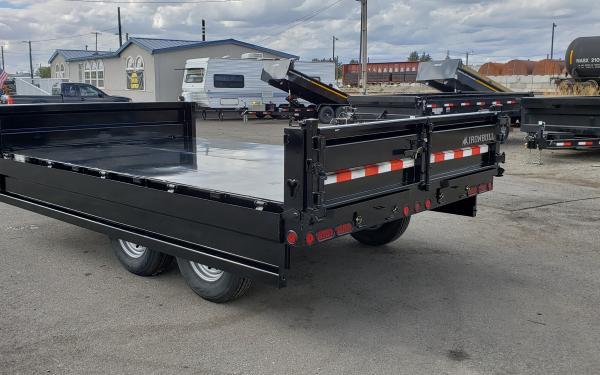 8x14 Ironbull Deck Over Dump Trailer 14k