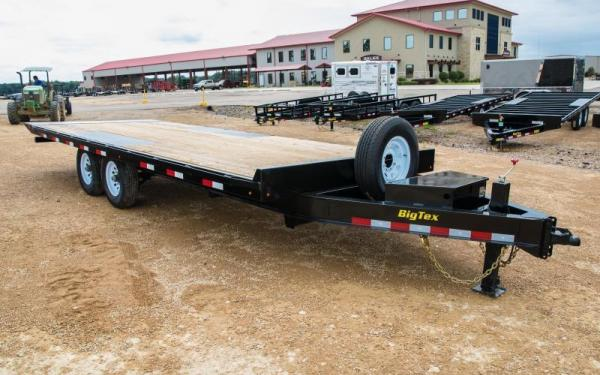 Big Tex Trailers 14OT-24 Tilt Equipment Trailer