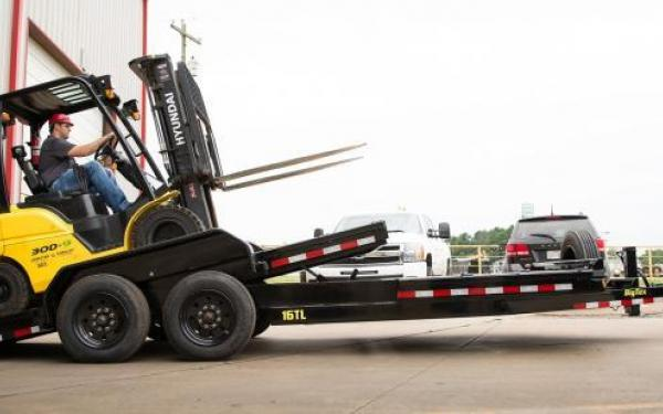 Big Tex 17.5K 22' HD Tilt Trailer