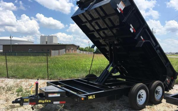Big Tex 7x14 14K Dump Trailer