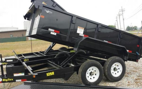 Big Tex Trailers 10k Dump Trailer
