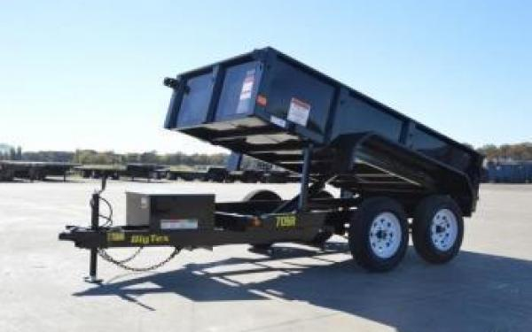 Big Tex 5x10 7k Dump Trailer