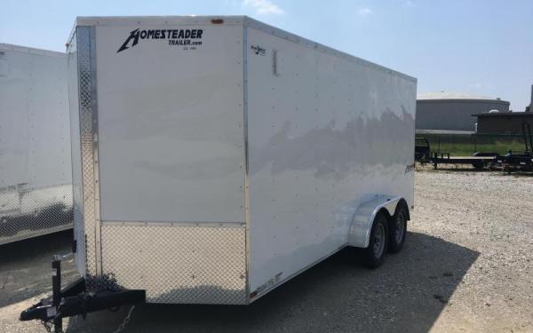 Homesteader Inc. 7x14 Enclosed Cargo Trailer