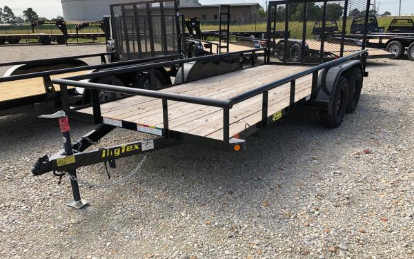 Big Tex 45ss 16' Utility Trailer W/ Gate